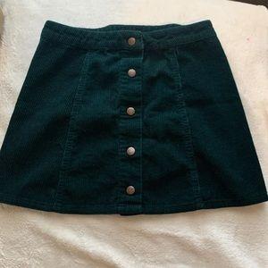 Green Forever 21 Skirt
